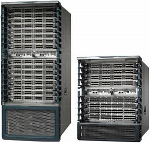 Cisco nexus 7009 supervisor slots online