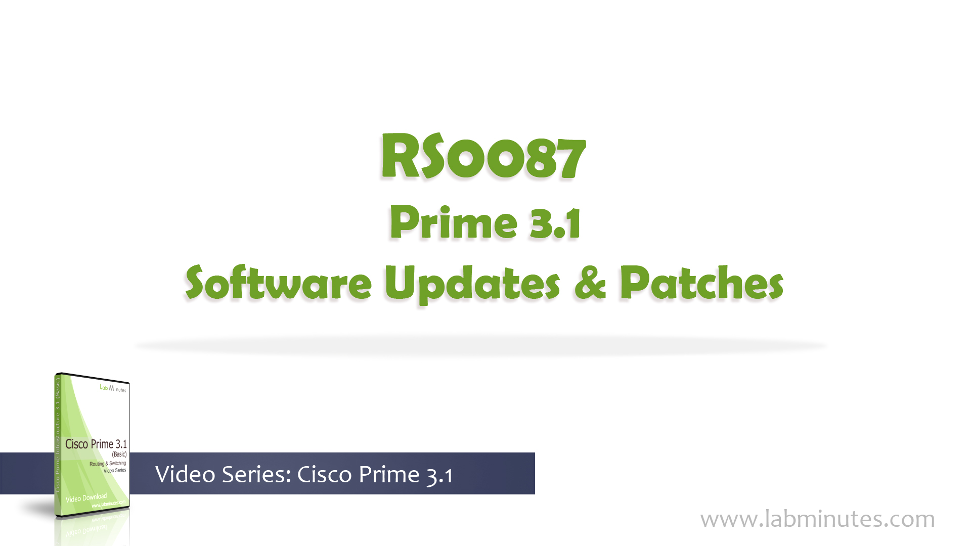 How to Install Prime 3 1 Software Updates and Patches