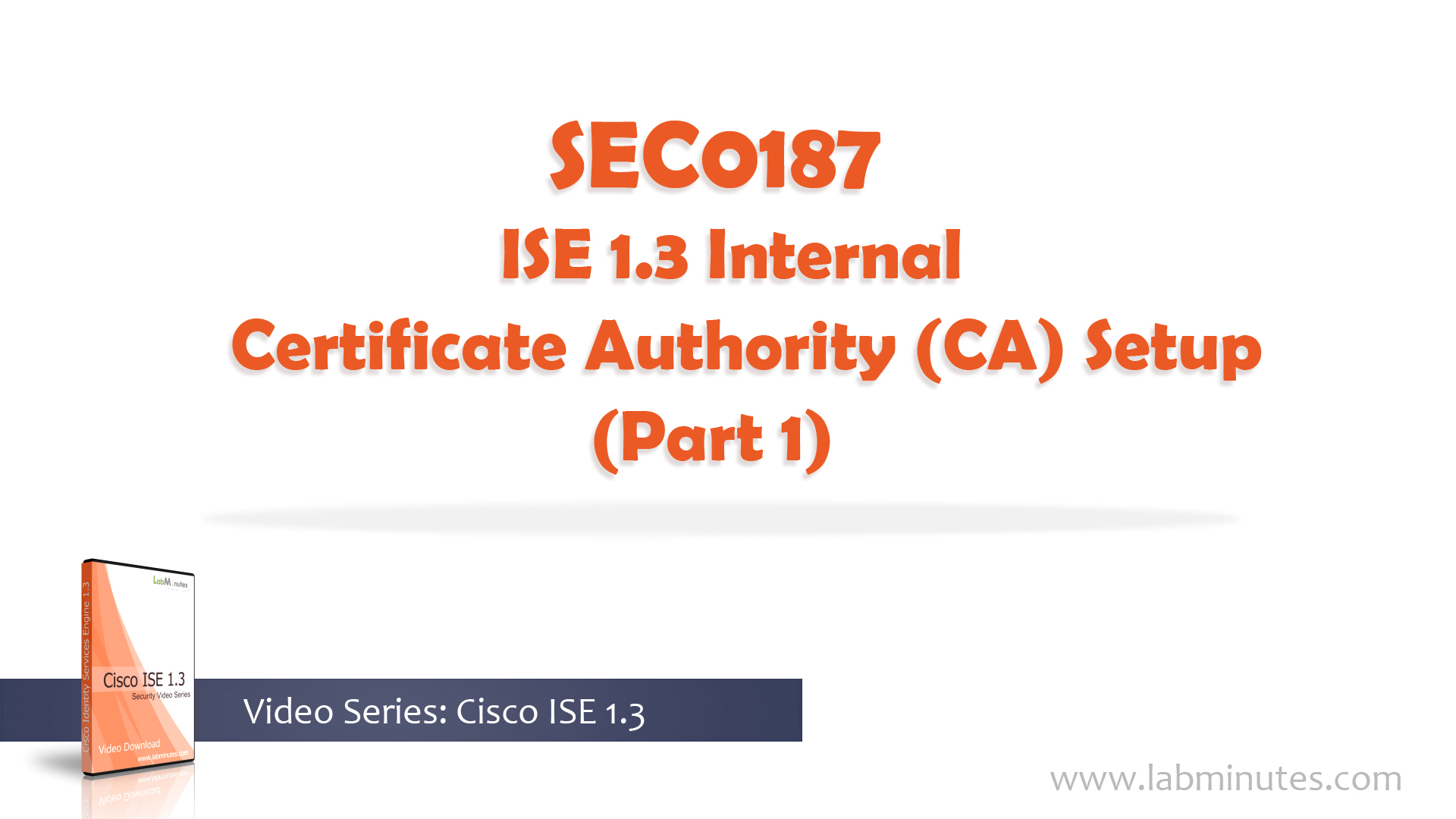 How to configure cisco ise 13 internal certificate authority ca how to configure cisco ise 13 internal certificate authority ca setup part 1 yadclub Gallery