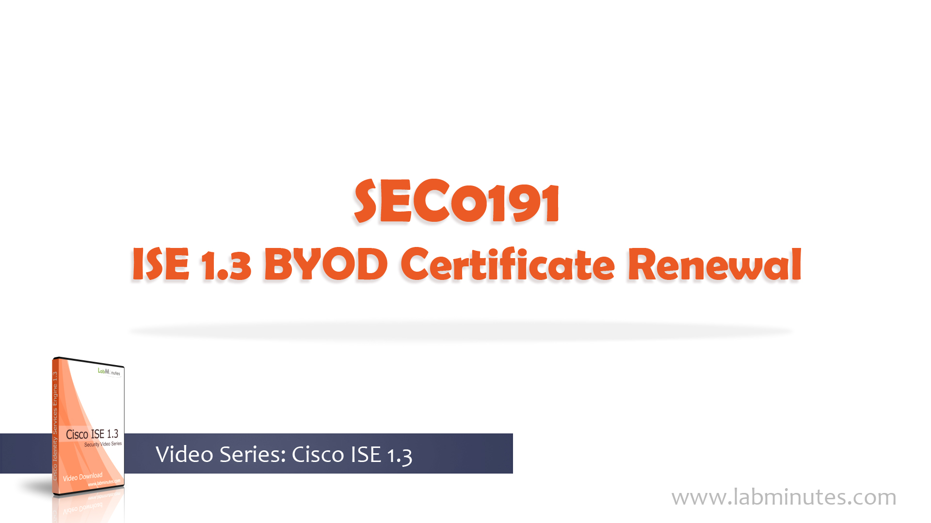 How To Configure Cisco Ise 13 Byod Certificate Renewal