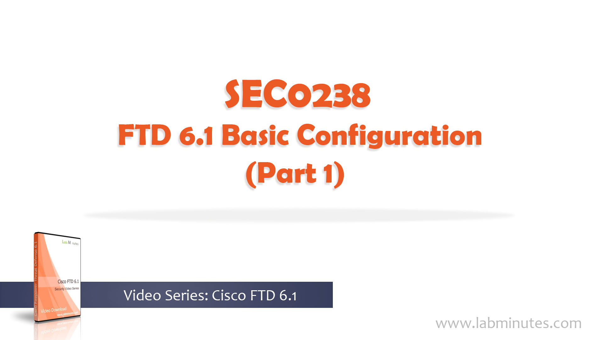 How to Configure FTD 6 1 Basic Configuration (Part 1)