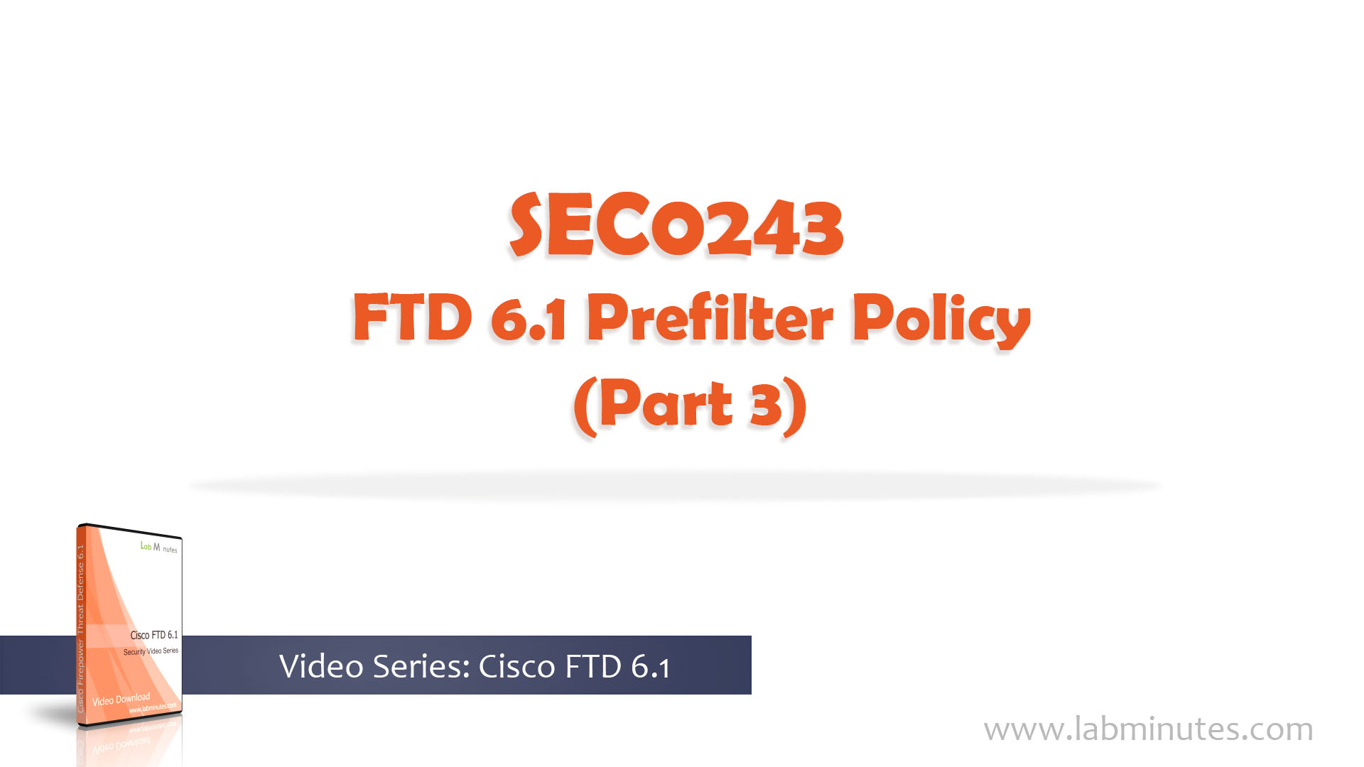 How to Configure FTD 6 1 Prefilter Policy (Part 3)