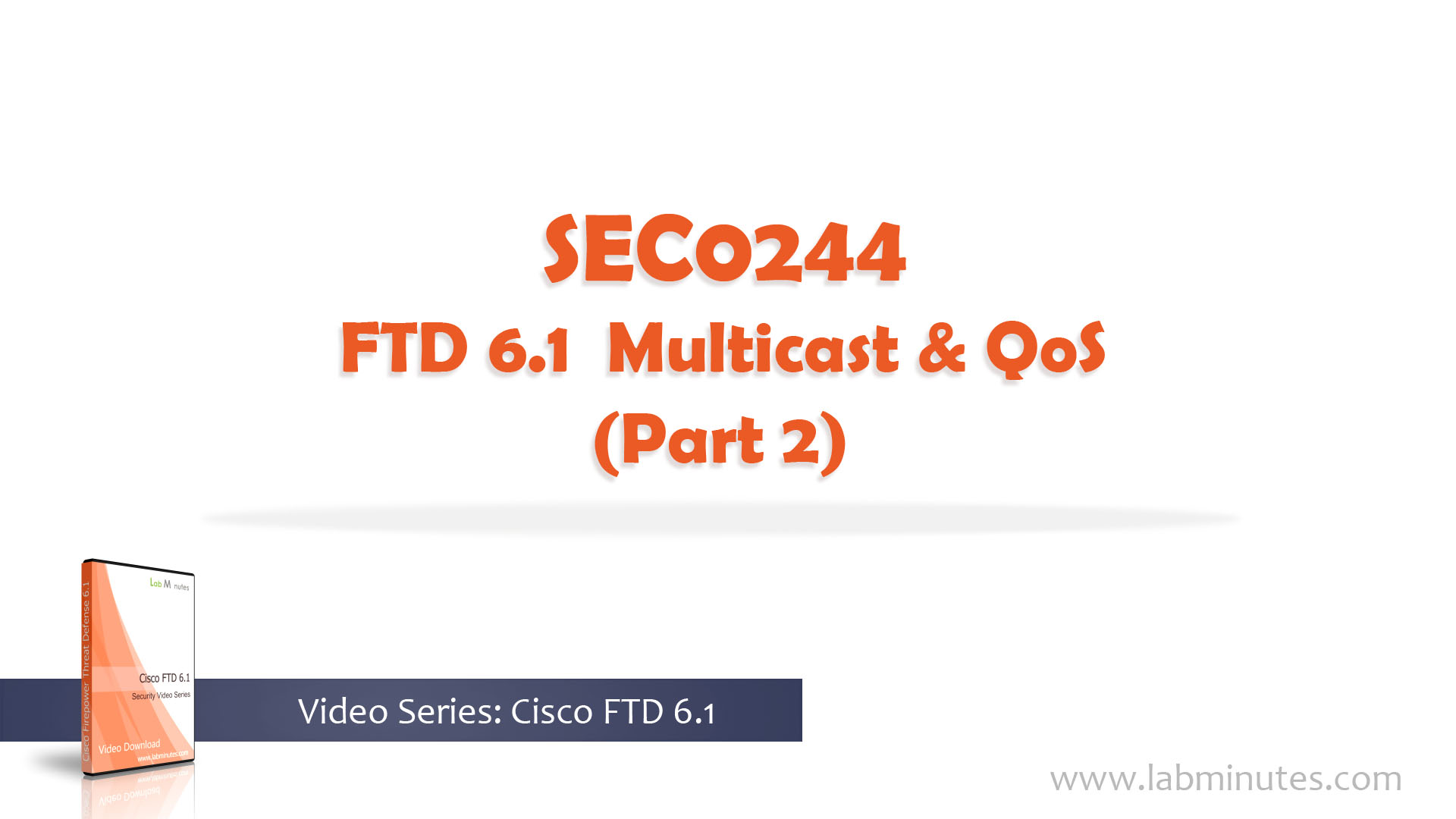 How to Configure FTD 6 1 Multicast and QoS (Part 2)